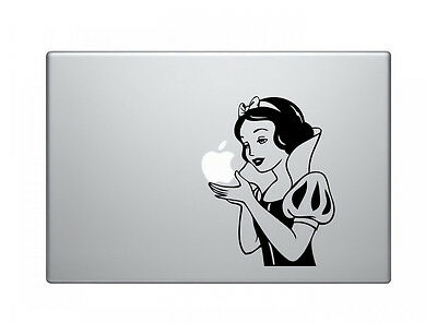 "Snow White Vinyl Decal Sticker Skin for Apple MacBook Pro Air Mac 13"" inch"