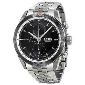 Oris-Artix-GT-Chronograph-Black-Dial-Stainless-Steel-Mens-Watch-674-7661-4154MB