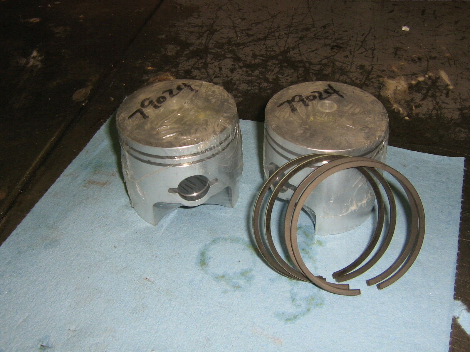 Chaparral xenoah 484 1.00 mm over pistons and rings set  free ship