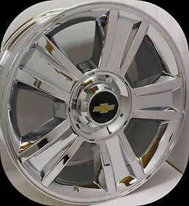2007 2017 chevy ltz silverado 1500 tahoe suburban avalanche chrome 20 in wheels ebay