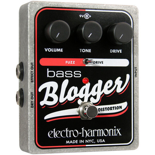electro harmonix xo bass blogger distortion effects guitar effect pedal for sale online ebay. Black Bedroom Furniture Sets. Home Design Ideas