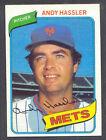 1980 Topps Andy Hassler #353 Baseball Card