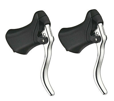 Tektro RL340 Aero Road Bike Brake Levers - Silver