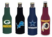 NFL Football Beer Bottle Holder Koozie