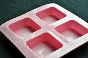 Flexible-Silicone-Soap-Molds-Candle-Making-Molds-Chocolate-Molds-4-Square-Bar