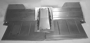 Chevrolet chevy pickup truck floor pan floorboard big for 1955 chevy floor pan replacement