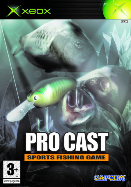Pro Cast Sports Fishing Game (Microsoft Xbox, 2003, DVD-Box)