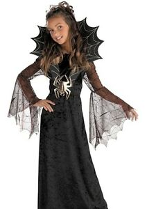 image is loading girls black widow spider witch vampire halloween costume - Spider Witch Halloween Costume