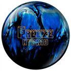 Columbia Sportswear Columbia 300 Freeze Hybrid Bowling Ball, Black/Blue/Silver, 16 - SMFRZHBD16