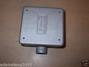 Crouse Hinds Fs 12 Condulet 2 Two Gang Outlet Box With