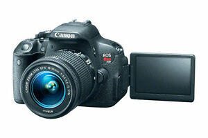 Details about CANON EOS 700D DSLR CAMERA WITH 18-55MM IS II+55-250MM IS  II-COMBO+DUAL LENS KIT