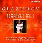 Alexander Glazunov - Glazunov: Symphonies 4 & 5 (1999)