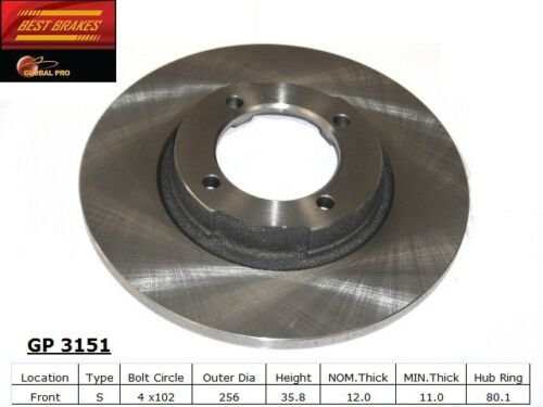 Best Brake GP3151 Front Disc Brake Rotor