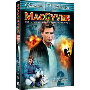MacGyver-The-Complete-Second-Season-DVD-2005-6-Disc-Set-Mint-Condition