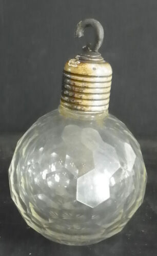 LARGE FACETED ROUND CRYSTAL BALL FINIAL 4986