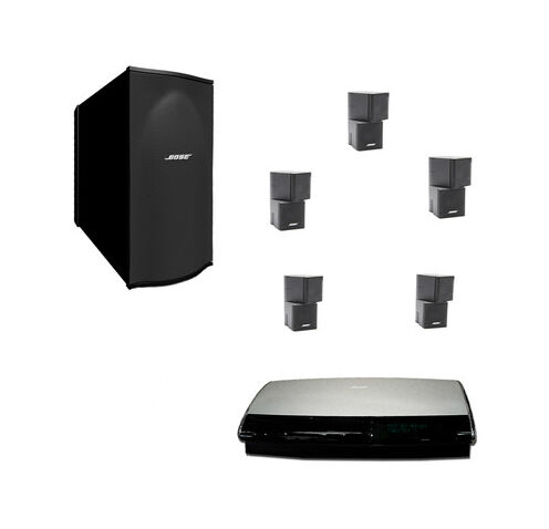 bose lifestyle 35 5 1 channel home theater system ebay. Black Bedroom Furniture Sets. Home Design Ideas