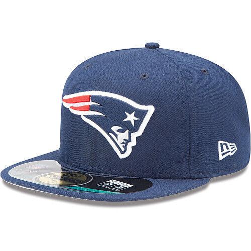 New Era Hat Cap NFL Football New England Patriots 7 59fifty 2012 Sideline