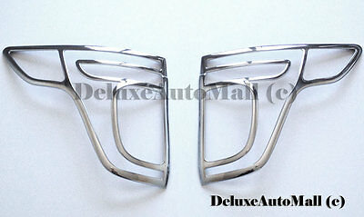 Chrome Tail Light Trims Bezels for 2011 2012-2015 Ford Explorer NEW! 2 PCS:R+L