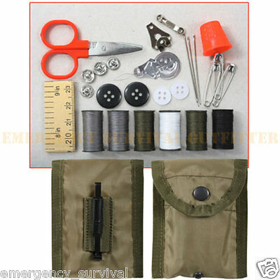 Military Sewing Kit Marines USMC Army Boy Scouts FREE SHIPPING