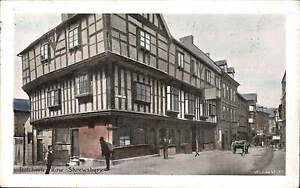 Shrewsbury-Butcher-039-s-Row-1717-by-Wilding-Coloured