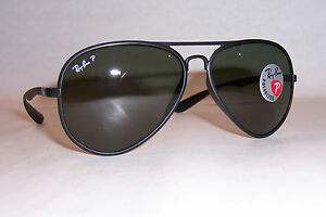 120ebb2eaec NEW RAYBAN SUNGLASSES RB 4180 601S9A BLACK GREEN POLARIZED 58MM AUTHENTIC