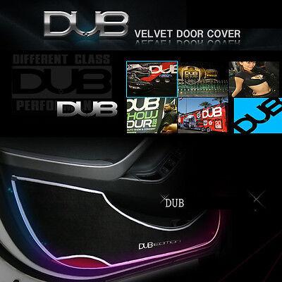 Scratch Door Cover Black Velvet & Black Line For 13 Hyundai Santa Fe DM