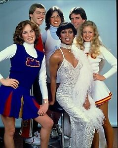 LOLA FALANA BUSTY COLLEGE CHEERLEADERS ORIGINAL 1977 CBS TV PHOTO ...