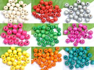 100pcs-6MM-8MM-10MM-12MM-14MM-Round-Wood-Ball-Spacer-Loose-Beads-Findings