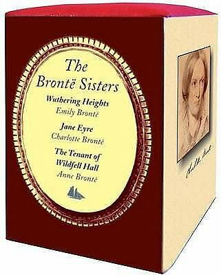 THE BRONTE SISTERS BOXED - EMILY BRONTE, ET AL. CHARLOTTE BRONTE (HARDCOVER) NEW