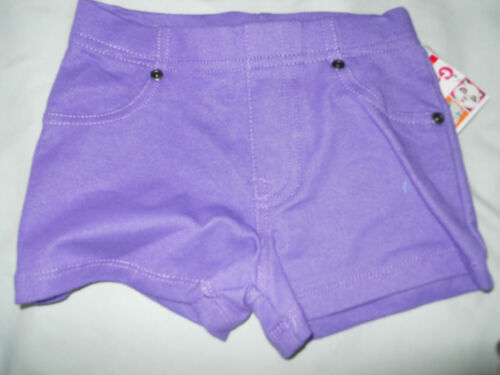 NEW Girls Knit Shorts Sz 12m 18M 24M 2T 3T 4T 5T Pink Black Blue Purple White