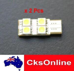 2x-T10-194-168-501-White-4-SMD-5050-LED-Side-Wedge-Light-Lamp-Bulb-DC-12V