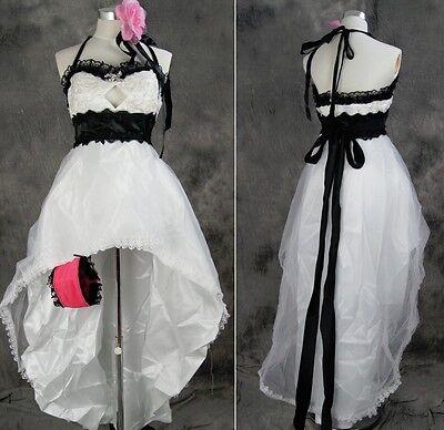 a274 VOCALOID Megurine Ruka Luka Cosplay Kostüm Kleid Abendkleid costume dress