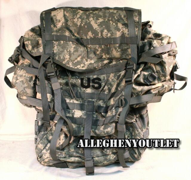 USGI Military Army ACU Digital MOLLE II RUCKSACK Complete Back Pack EXCELLENT