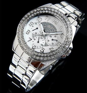 c437e3079bc9 Image is loading 100-Authentic-GUESS-Watch-Women-039-s-Shimmer-