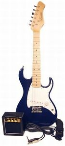 Barcelona-1-2-Size-Mini-Electric-Guitar-Package-Blue