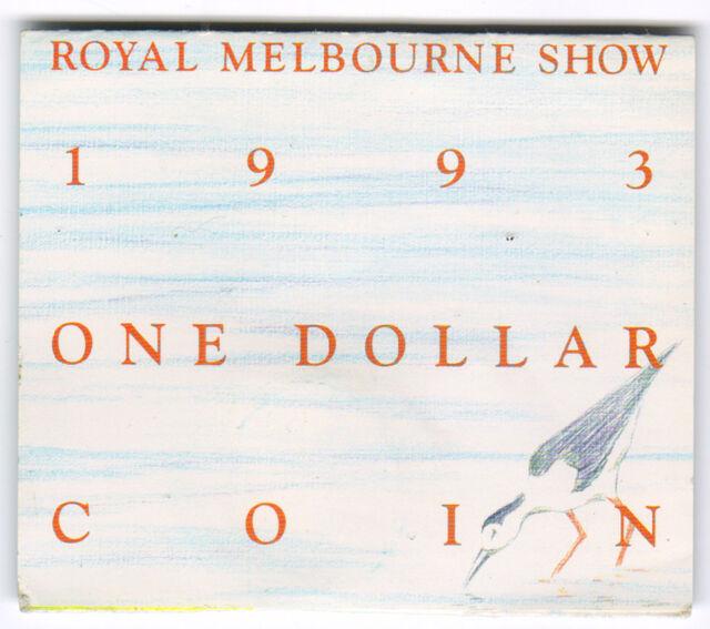 1993 RAM $1 UNC (Royal Melbourne Show 'M' Mintmark)