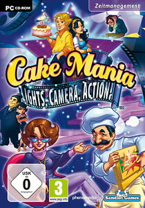 Cake Mania: Lights, Camera, Action (PC, 2011, DVD-Box) - Tholey, Deutschland - Cake Mania: Lights, Camera, Action (PC, 2011, DVD-Box) - Tholey, Deutschland