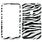 GTMax Plastic Hard Snap On Cover Case - Black White Zebra for Verizon LG Revolution 4G VS910