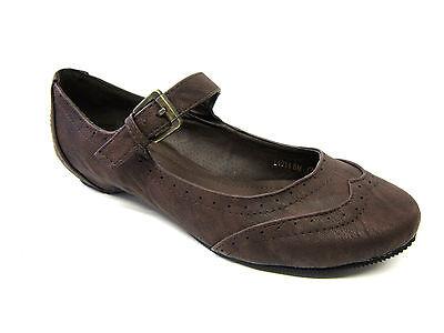 Damen Update Schuhe L4914 dunkelbraun