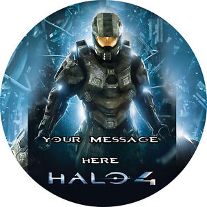 Halo Edible Cake Images