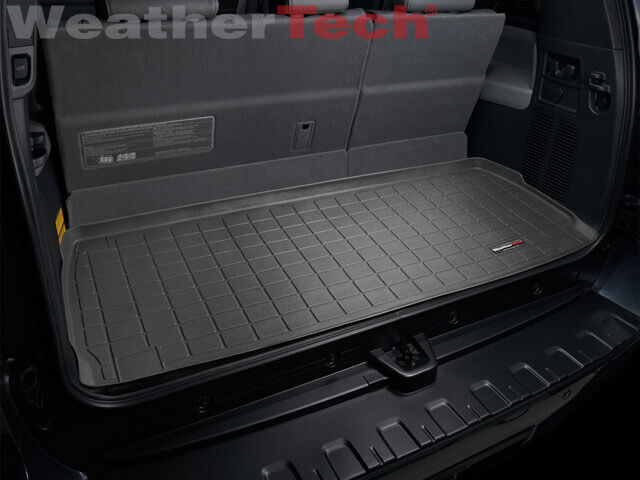 WeatherTech Cargo Liner for Toyota Sequoia - Behind 3rd Row - 2008-2016 - Black
