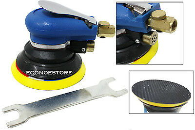 "5"" Palm Air Sander Random Orbital Auto Body orbit DA Sander Tools 9000RPM"