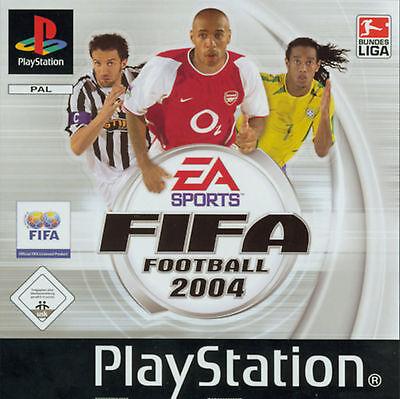 FIFA Football 2004 (Sony PlayStation 1, 2003)