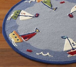 Pottery Barn Kids Baby Boats Sailboat 5 Foot