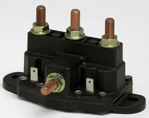 Relay winch motor reversing solenoid switch new 12 volt for 12 volt hydraulic pump motor