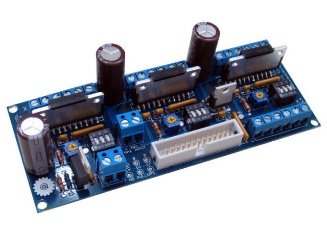 3-Axis Unipolar CNC Stepper Motor Driver / Controller ~ DIY Kit ~ Made in USA