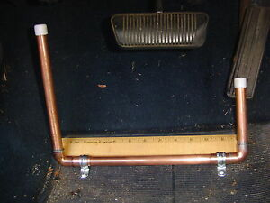 how to make a left foot gas pedal