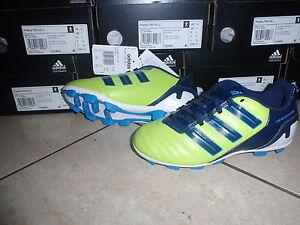 Adidas neue Fußballschuhe PreditoTRX blau/limone(Neonfarbe)marine Größe 38 2/3