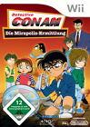 Detective Conan: Die Mirapolis-Ermittlung (Nintendo Wii, 2009, DVD-Box)