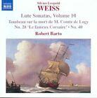 Silvius Leopold Weiss - Weiss: Lute Sonatas, Vol. 10 (2010)